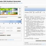 CSS3のグラデーションのプロパティを生成する Ultimate CSS Gradient Generator