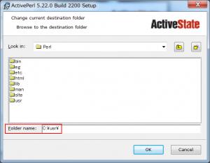 ActivePerl インストール
