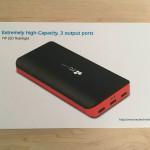 低価格で大容量のモバイルバッテリー「EC Technology POWERBANK 22,400mAh」を買ってみた