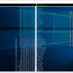 Windows10でだいなファイラーの背景を透過する方法