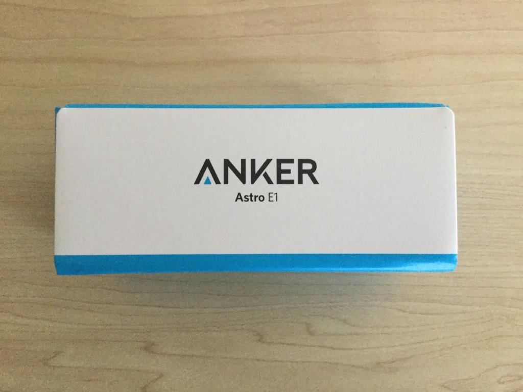 Anker Astro E1 5200mAh h箱