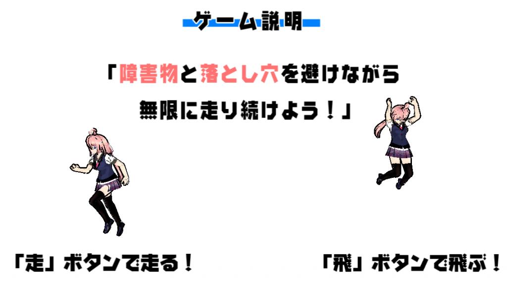 インフィニットランナー社畜ちゃん 操作方法