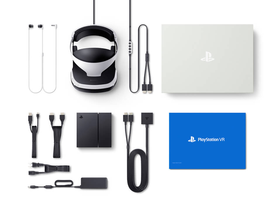 PlayStation VR 同梱品
