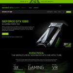 「GeForce GTX 1080」が正式発表