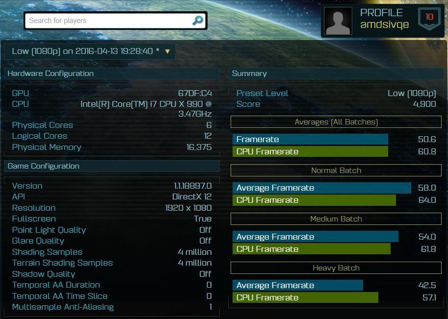 LOW 1080P 67DF POLARIS 10