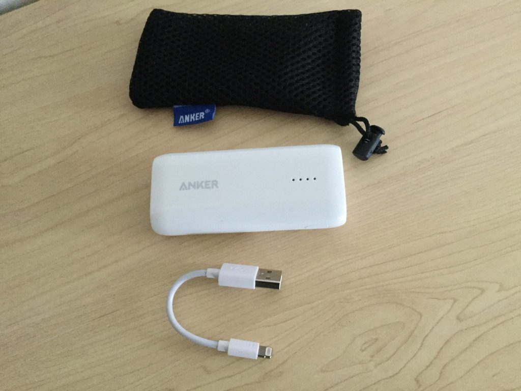 Anker Astro E1 5200mAh(モバイルバッテリー)