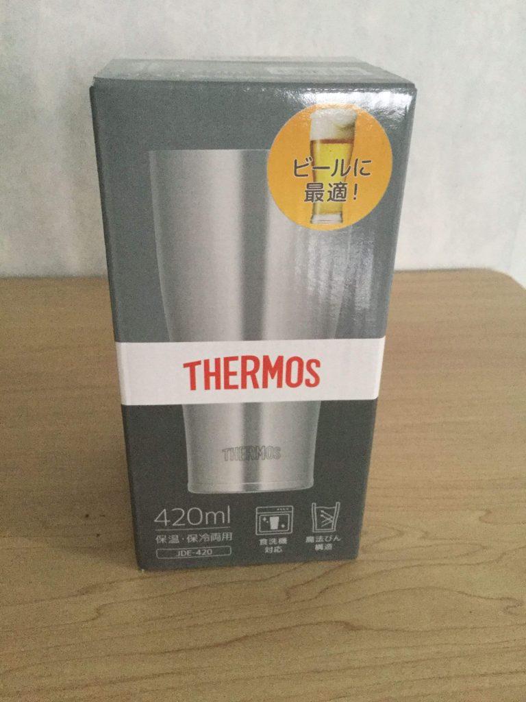 サーモス真空断熱タンブラー420ml 箱