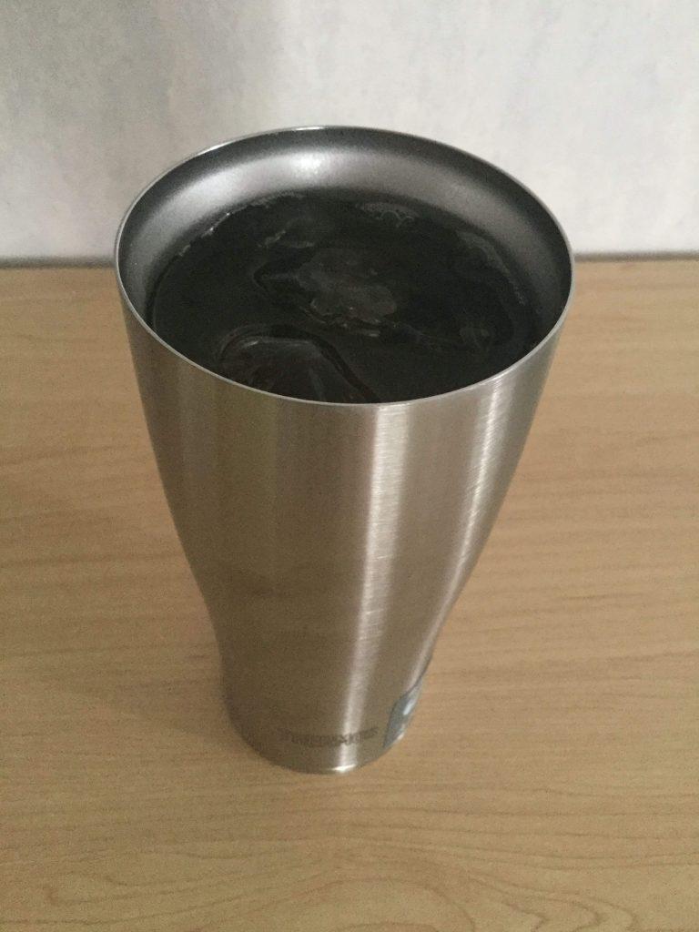 サーモス真空断熱タンブラー420ml 氷が溶けない