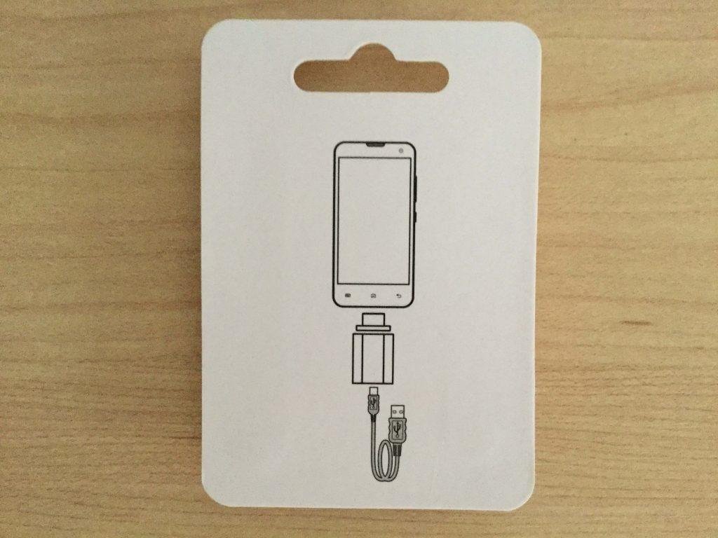 マグネット式 Micro USB 変換 FIRST2SAVVV 裏面は使い方が図で描かれている