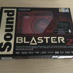 Creativeのハイレゾ対応サウンドカード「Sound Blaster Z」を買ってみた