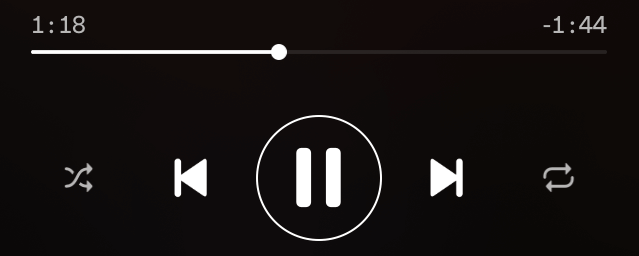 Spotify アプリのコントロール