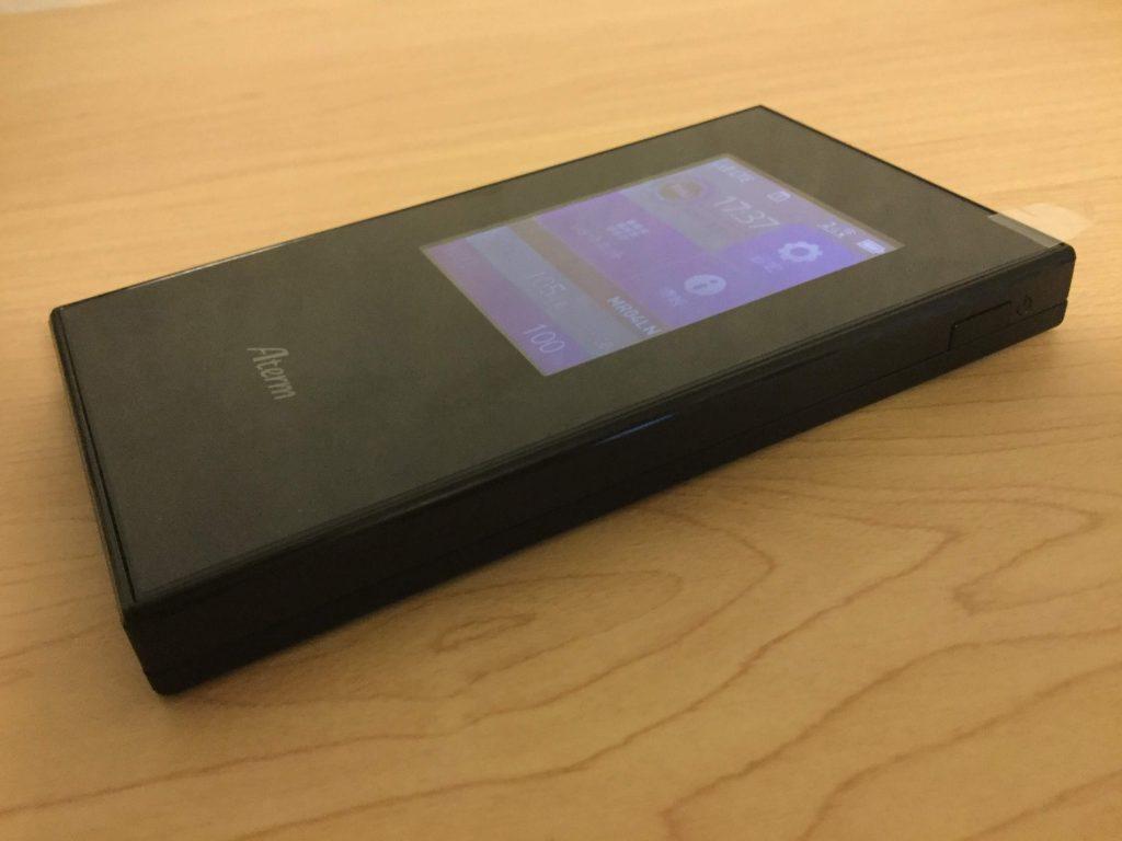 NEC Aterm MR04LN モバイルルーター 1