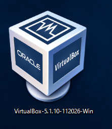 VirtualBox VirtualBoxのexeをクリック