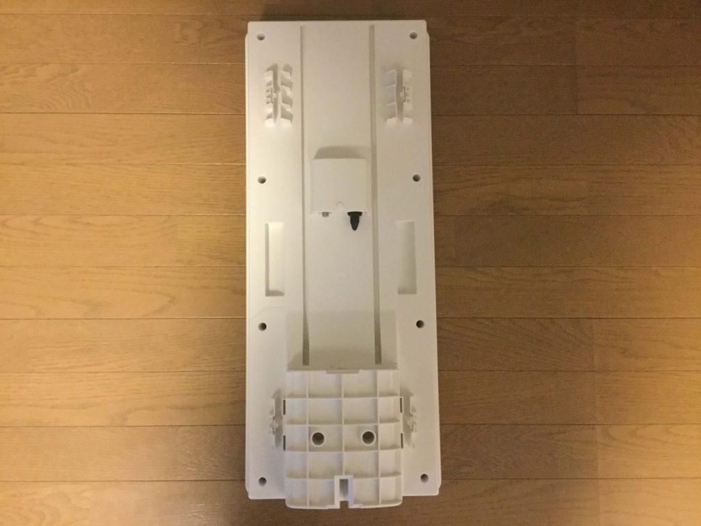 マスプロ電工スカイウォーリーU2SWL26B 後ろは金具取り付け部分、出力端子(DC15V受電)、BS・CS入力端子