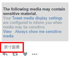Twitter 原寸びゅー TweetDeckのタイムラインに「原寸画像」が表示される