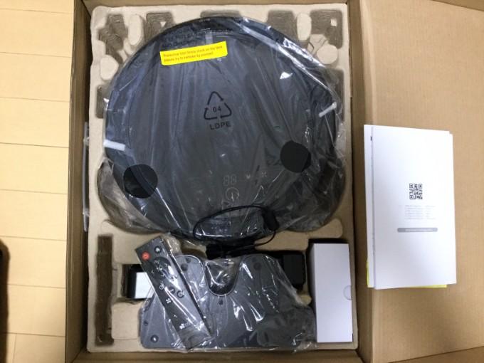 ロボット掃除機 EC Technology ロボットクリーナー 衝撃を緩和する梱包がされている