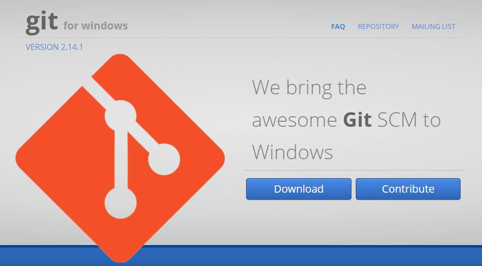 Gitダウンロードしてインストールする<