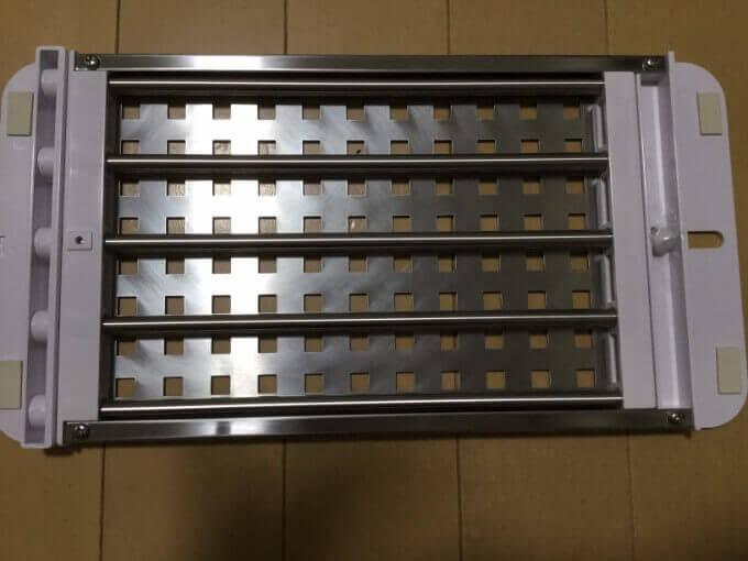 パール金属 日本製 シンク 調理台 スライド式 ステンレス デュアリス H-5650 裏