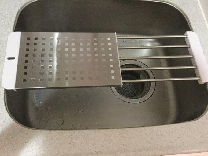 パール金属 日本製 シンク 調理台 スライド式 ステンレス デュアリス H-5650 スライド