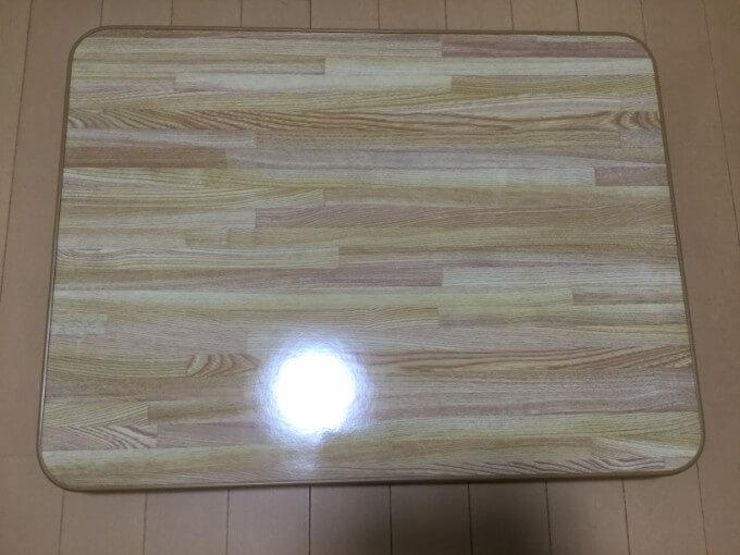 不二貿易 ローテーブル 折りたたみ ちゃぶ台 天板