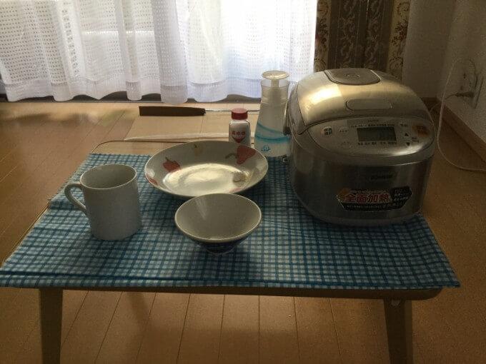 不二貿易 ローテーブル 折りたたみ ちゃぶ台 食器