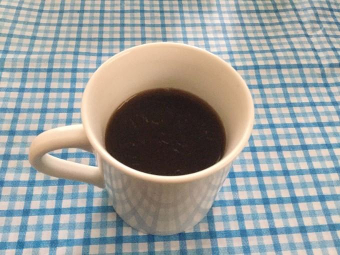 浄水で飲むコーヒー
