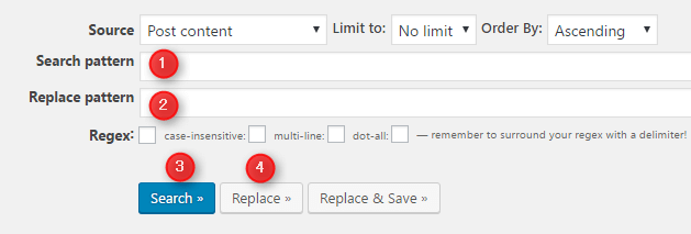 Search Regexで検索置換