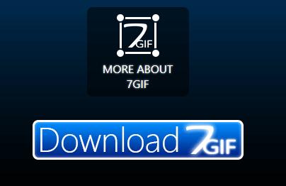 7GIF 「Download 7GIF」ボタンをクリック