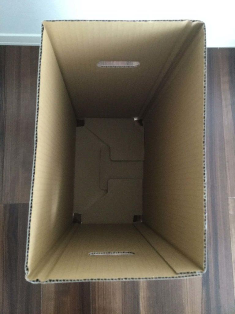 Amazon.co.jp限定 撥水加工 ダンボール ダストボックス 分別 ゴミ箱 幅が34.5cm