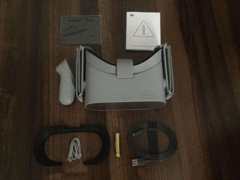 Oculus Go 内容物