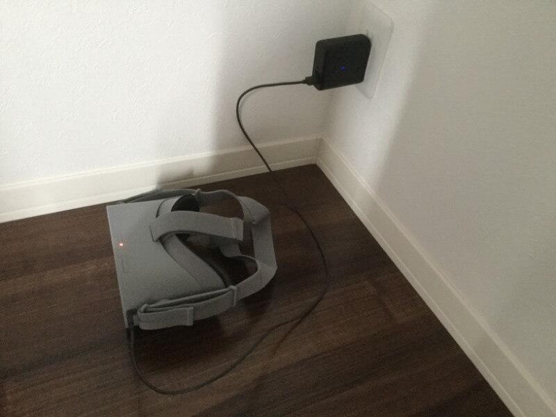 Oculus Go Anker PowerCore Fusion 5000でOculus Goへの本体電源供給と充電を同時に行う