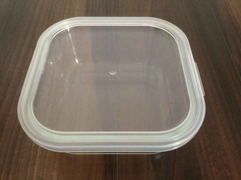 ダイソー 耐熱ガラス食器 800ml 耐熱温度差120℃ 324円