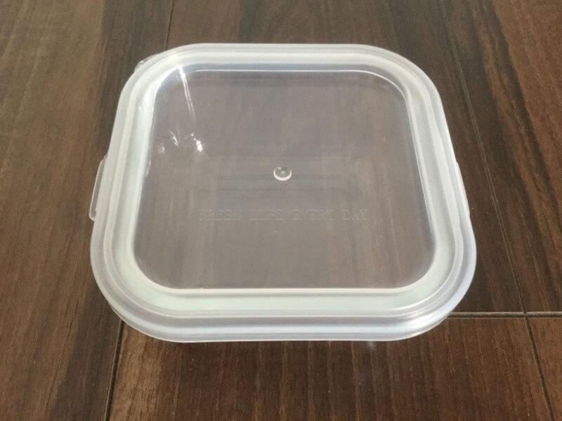ダイソー 耐熱ガラス食器 800ml 耐熱温度差120℃ 108円