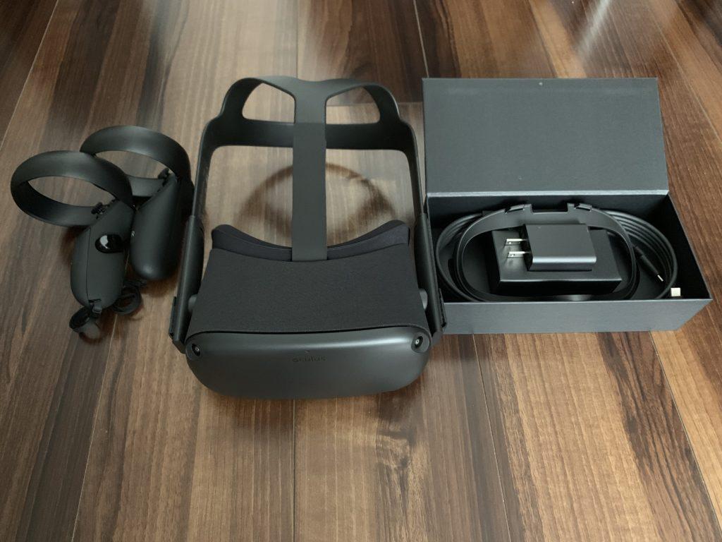 Oculus Quest 内容物