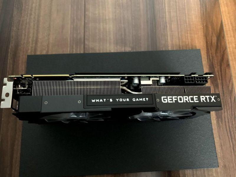 RTX 2070 SUPER GRFORCE RTXの文字が印字されている