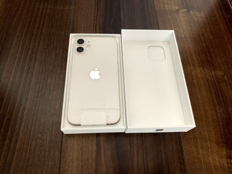 iPhone 12 mini 開封の儀